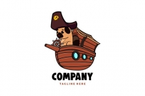 Pirate Pug Logo